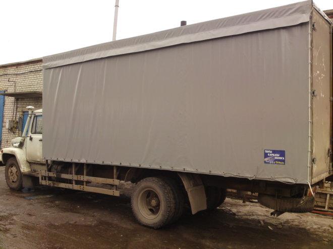 Тент на ГАЗ 3307 с верхней погрузкой